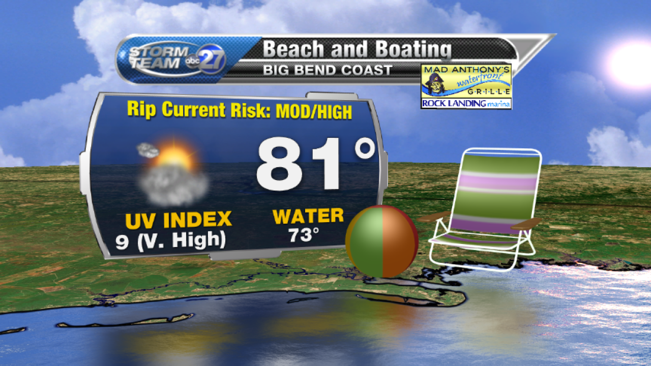Beach and Boating forecast B (04/18/2017)