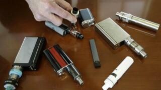 Vaping E-cigarettes teen vaping AP photo