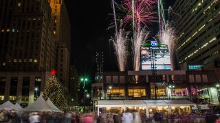 Cincygram: It's not official until the Fountain Square Christmas tree is ablaze in lights