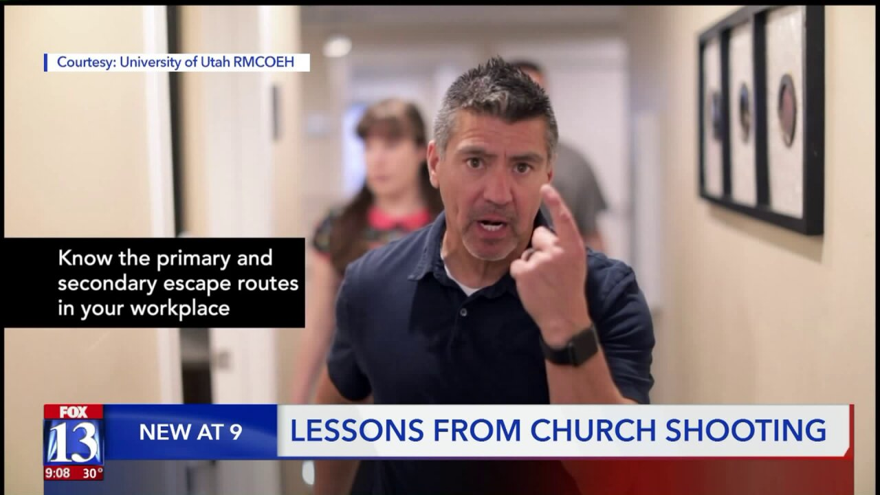 'Shift in paradigm': Utah self-defense trainer says shooting at Texas church shows preparation can save lives