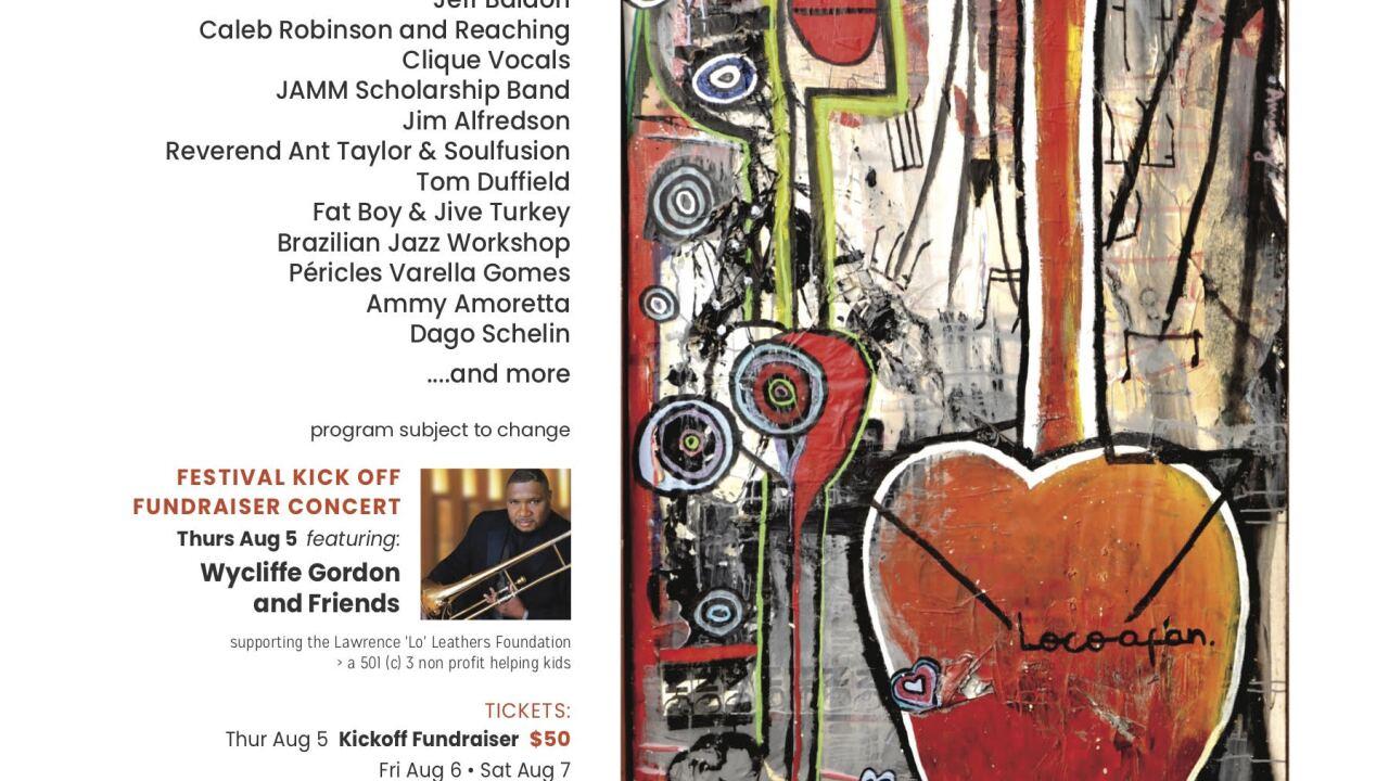 Jazz Fest flyer