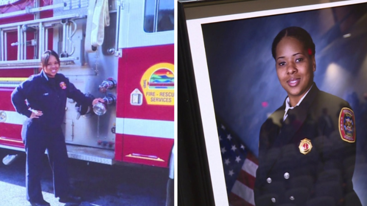 Vigil held for murdered Richmond firefighter: 'She had the love of an angel, but the strength of a lion'
