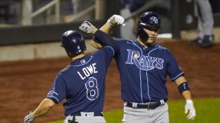 Rays Mets Baseball