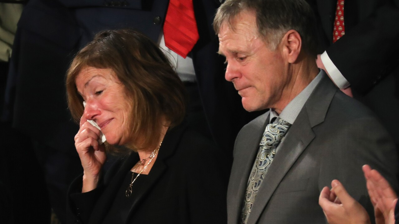 Fred and Cindy Warmbier