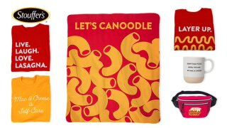 Stouffer's is launching a merchandise store and just in time for the holidays
