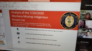 Montana Missing Indigenous Persons Task Force provides updates to missing persons cases