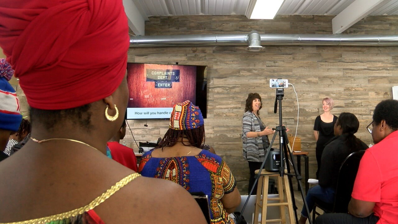 nonprofit teaches people how to start buisness