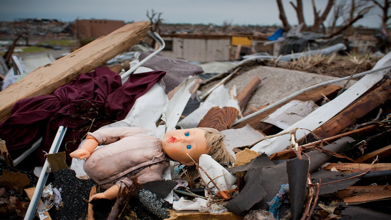 PHOTOS: Haunting images show Joplin 2011 ruins