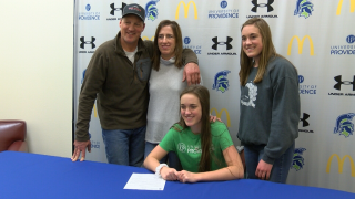 Simms High School's Lissy Willekes signs with University of Providence volleyball