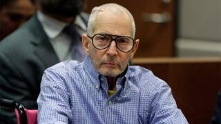 Imprisoned Real Estate Heir Robert Durst Appears In Court For Hearing In Murder Case