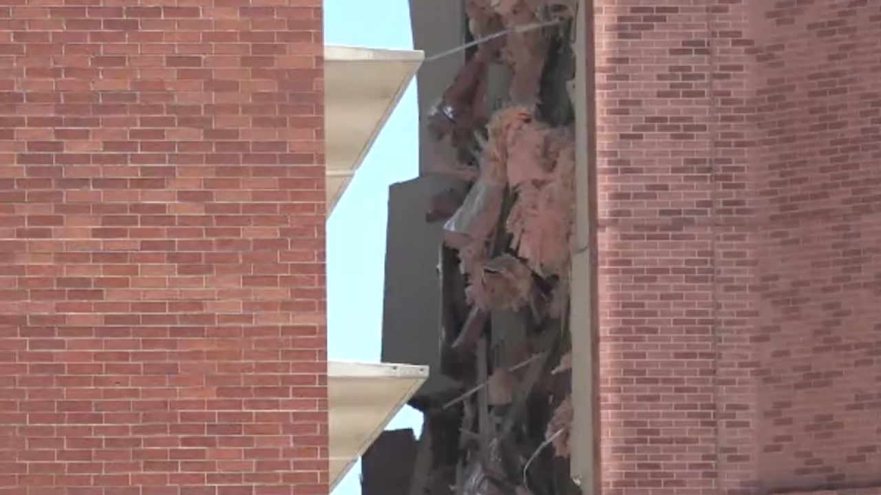 Possible explosion on campus of University of Nevada, Reno damages residence hall