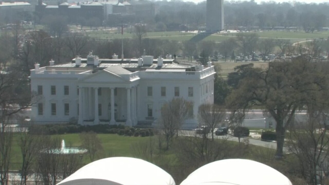 Man seized outside White House