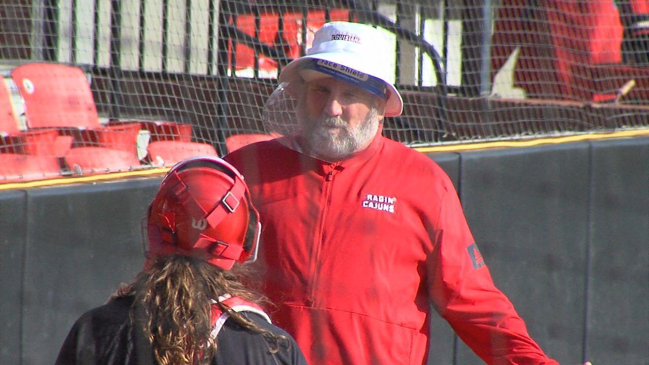 Gerry Glasco Louisiana Softball Coach 2021