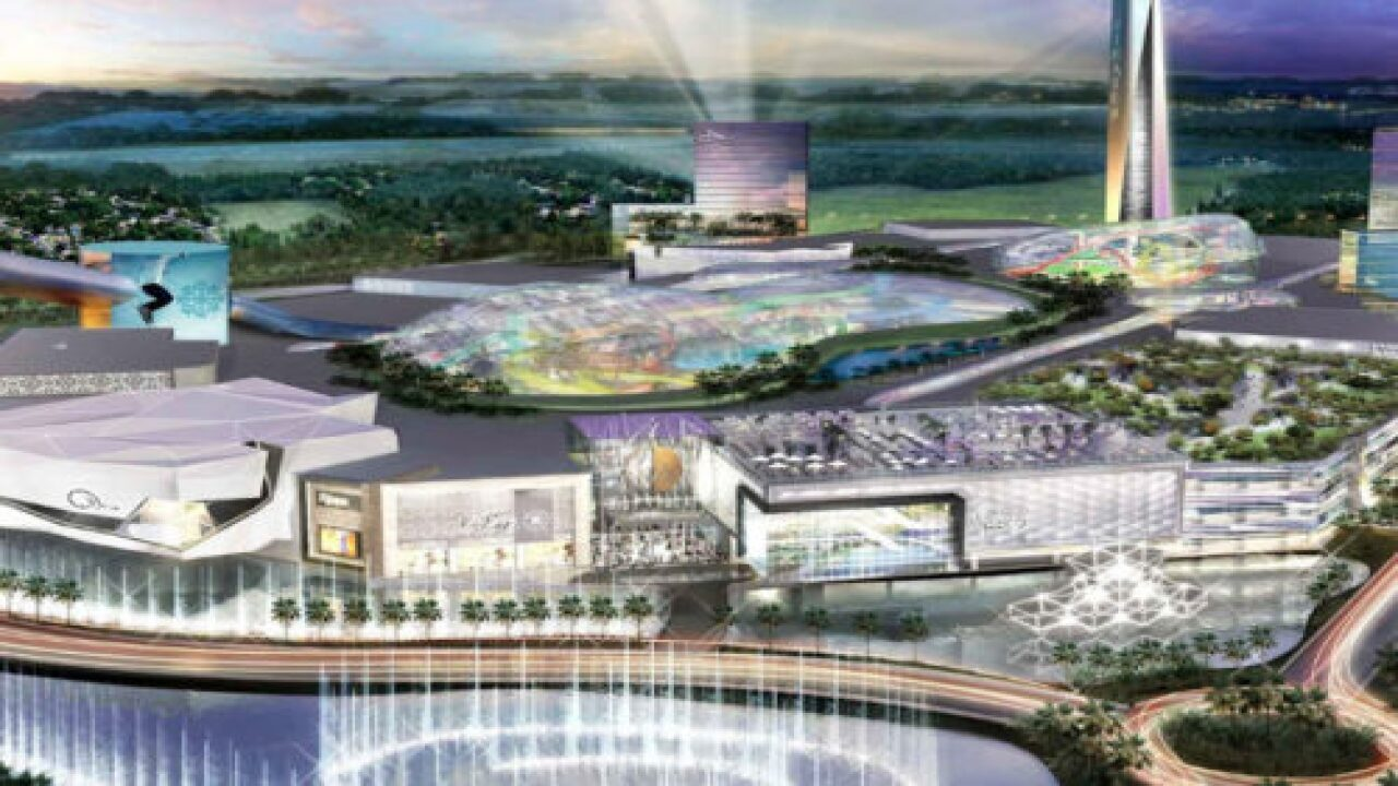 This Massive New Shopping Mall Is Home To A Water Park And A Nickelodeon Theme Park
