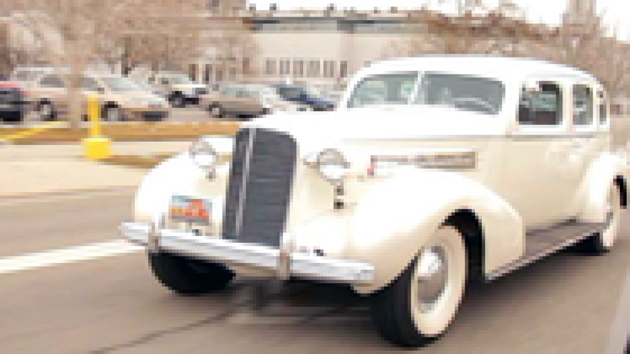 Retired SLC firefighter's classic limo is ashowstopper