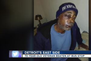 Daughter of Marine veteran says father was beaten, left for dead at bus stop