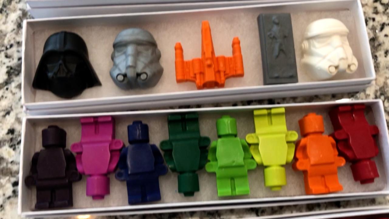 JL Fun Colorz crayons