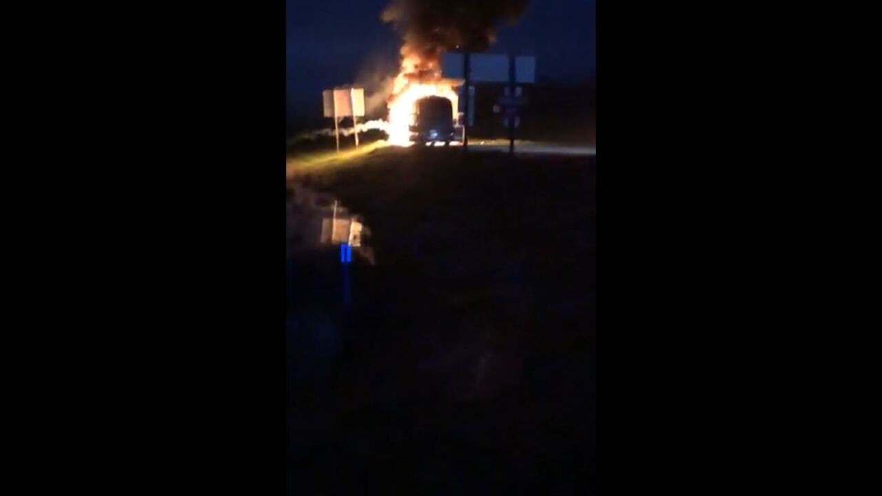 Neal McCoy Tour Bus Fire.JPG