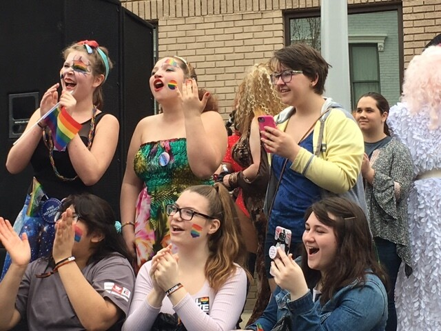 PHOTOS: Hundreds take to the streets for Columbus' first-ever Pride Festival