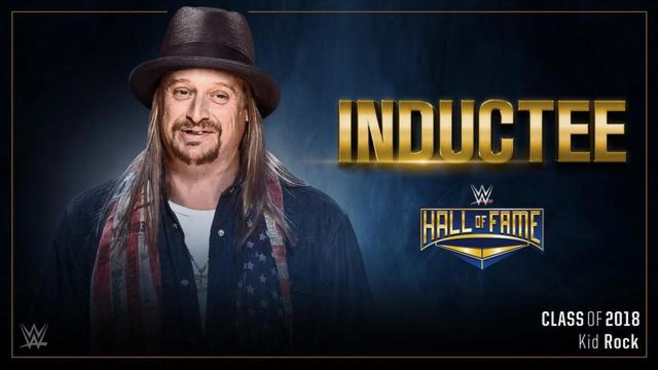 Kid Rock to be inducted into WWE Hall of Fame class of 2018