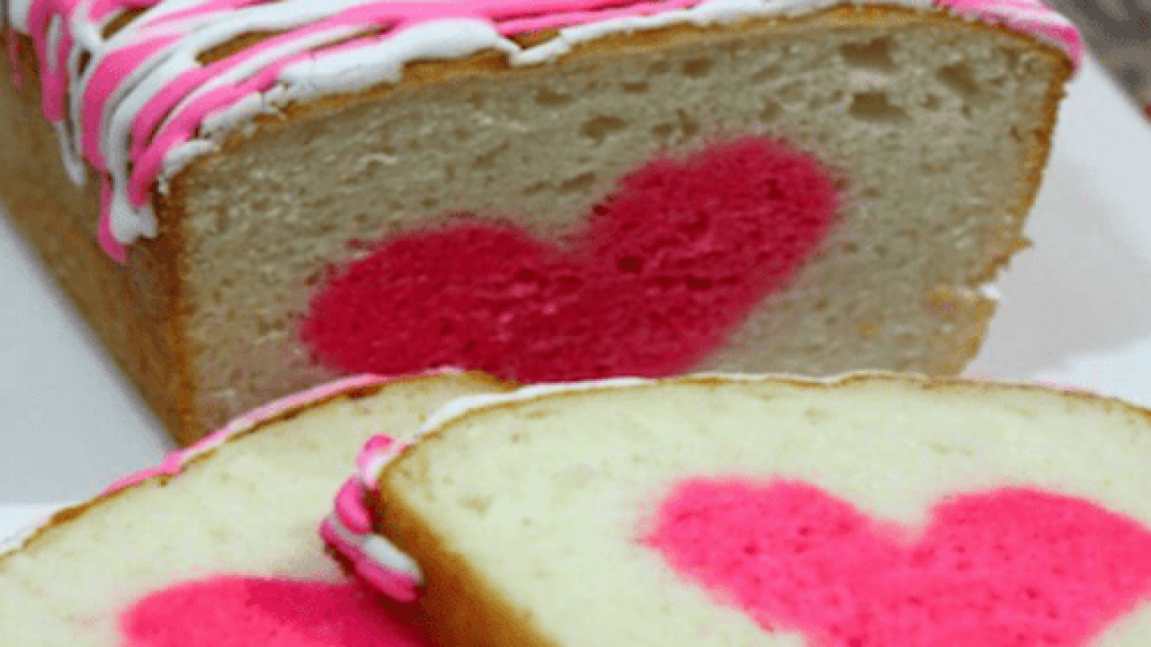This Vanilla Strawberry Heart Cake Is A Perfect Valentine's Day Dessert