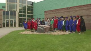 Freedom Elementary's first graduating class