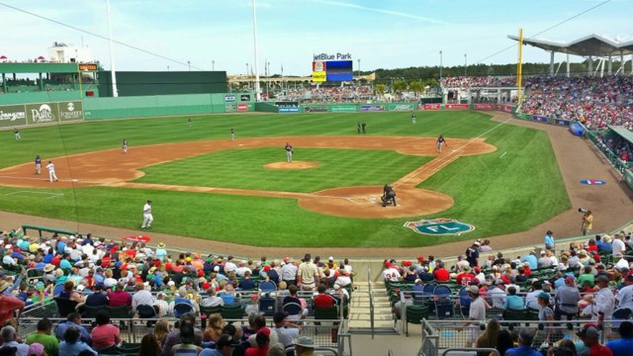 Boston Red Sox Release 2019 Spring Training Schedule