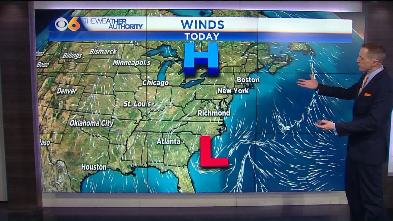 Storm will bring gusty winds, coastal flooding
