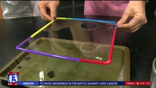 Spark Science: Bubbles and surface tension