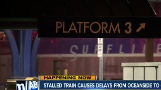 Disabled train in OC causes delays, cancellations