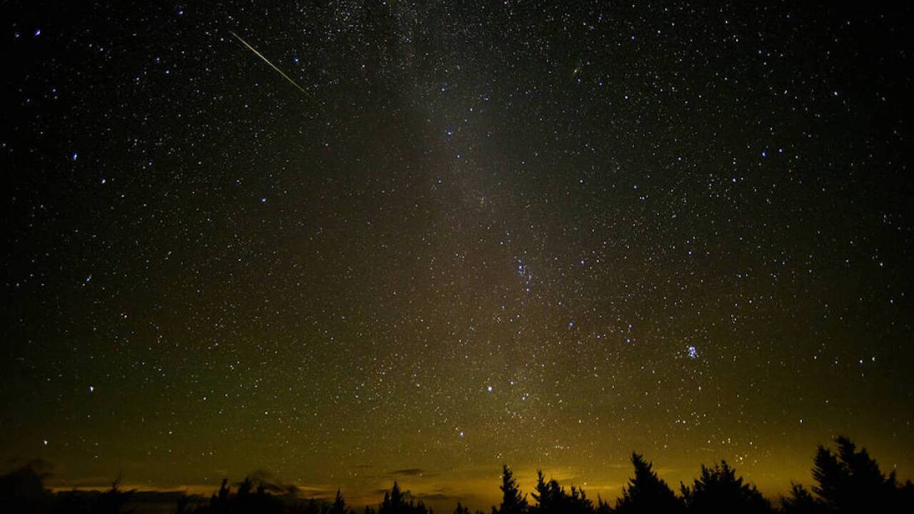 NASA: Annual Perseid meteor shower visible this week