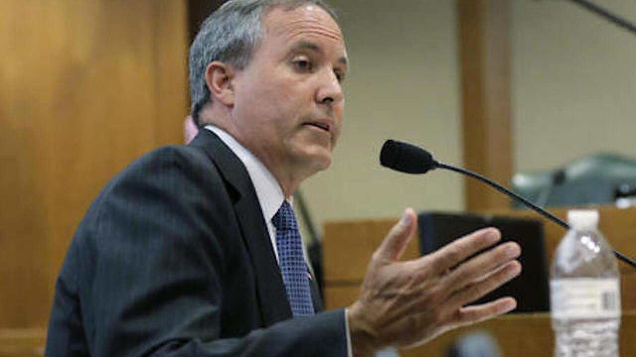Texas attorney general charged with fraud