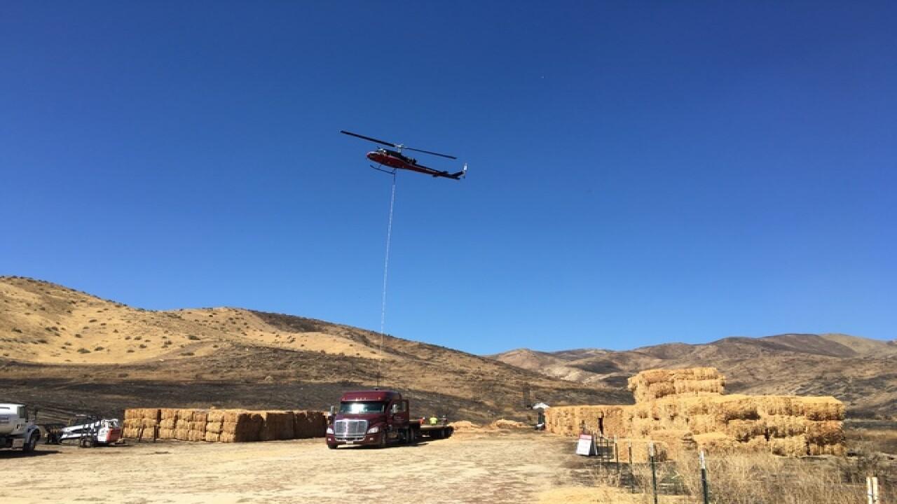 MM14 fire rehabilitation effort underway