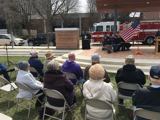 PHOTOS: Memorial dedicated 50 years after deadly Richmond explosions