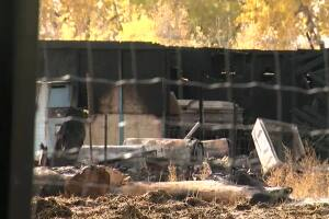 Haunted house attraction in Parker destroyed in morning fire