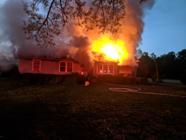 Photos: Suffolk Fire responds to 2-alarm house fire, firefighter and occupanttreated