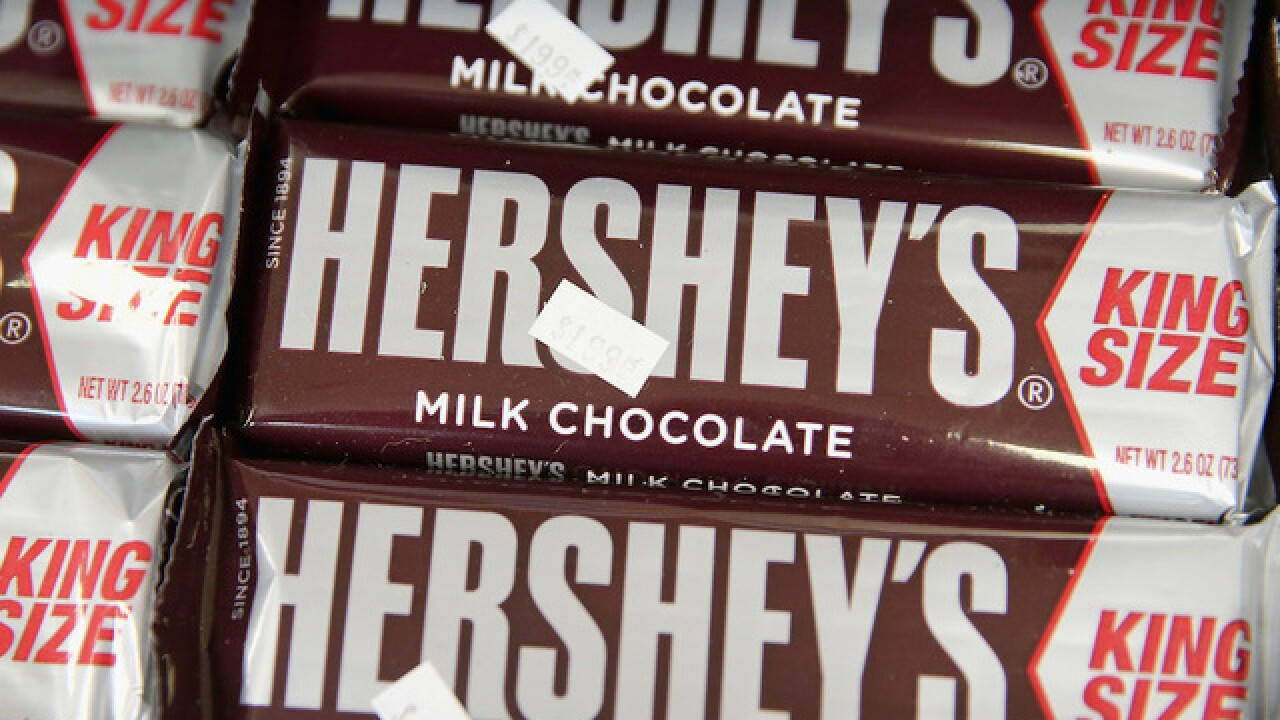 Hershey's is about to make your favorite chocolate bars more expensive