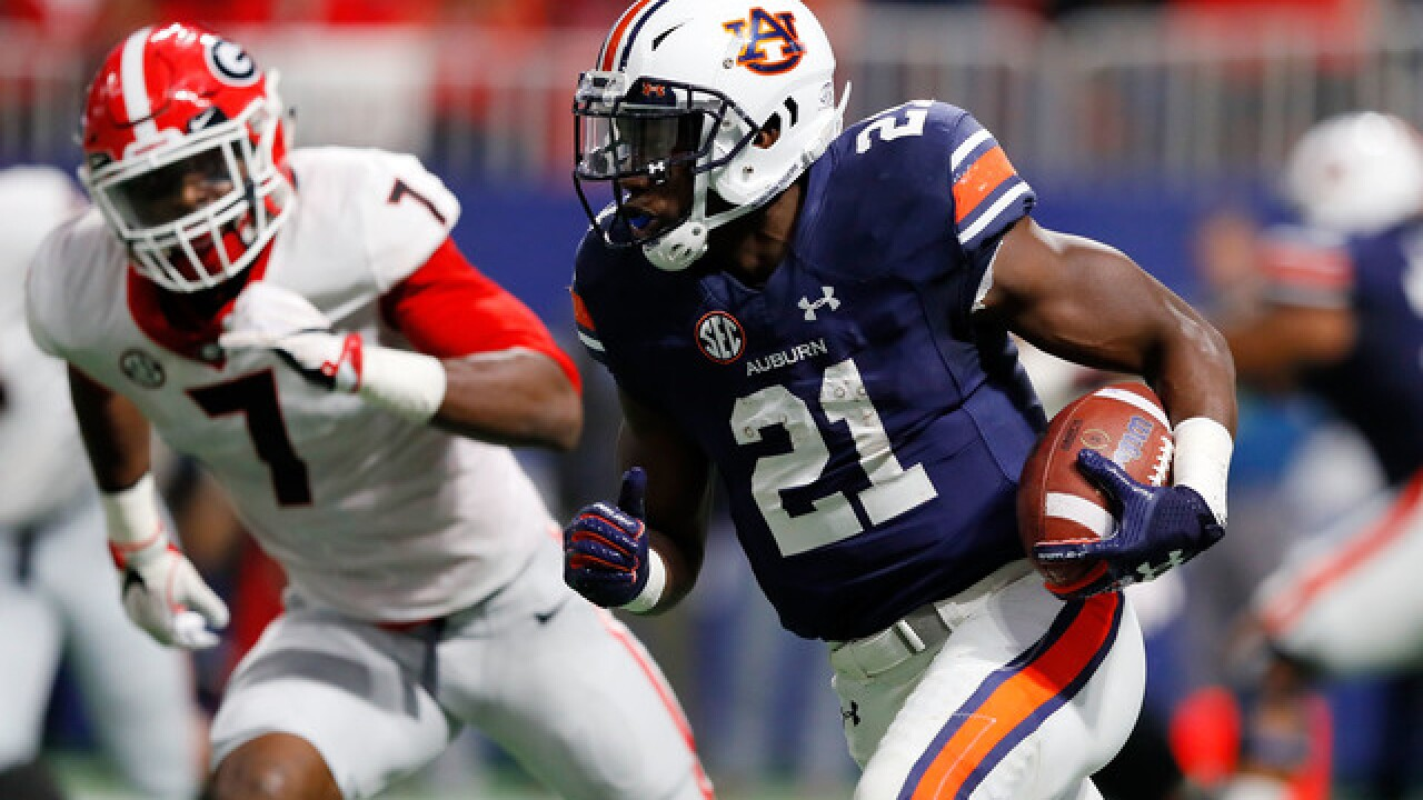 Lions draft Auburn RB Kerryon Johnson in second round