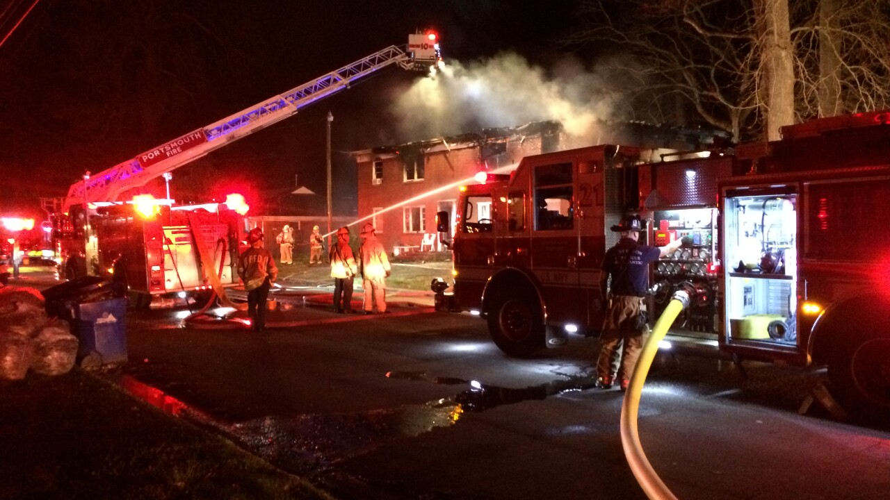 One person found dead in Portsmouth apartment fire
