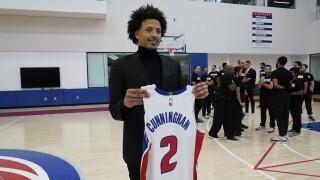 Cade Cunningham Pistons Basketball