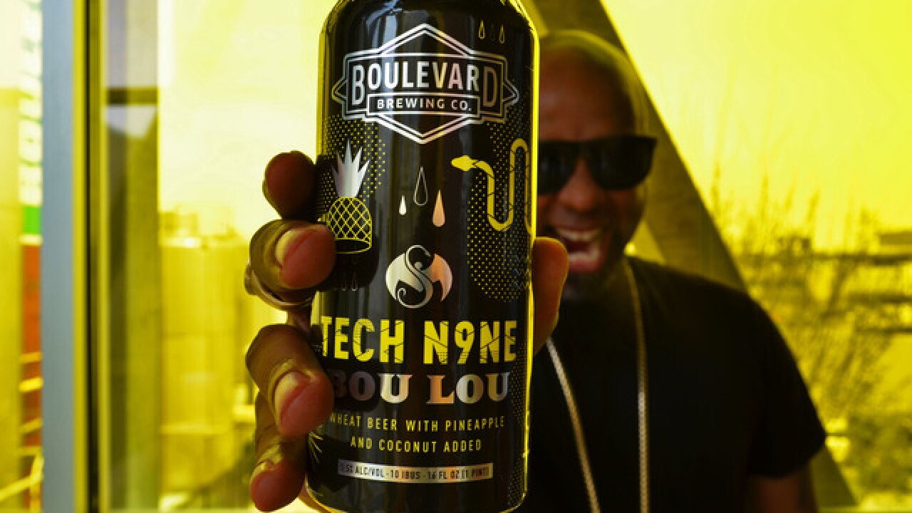 Boulevard Brewing and Tech N9ne partner for new brew 'Bou Lou'