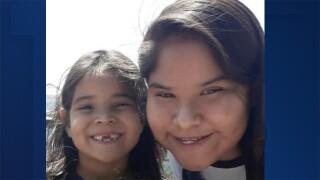 Jayda John and 14-year-old Jaycee Spencer