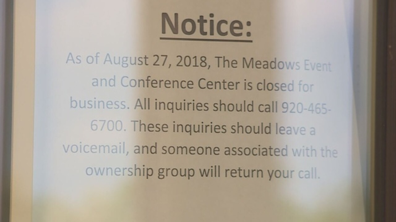 The Meadows says they're closed for business