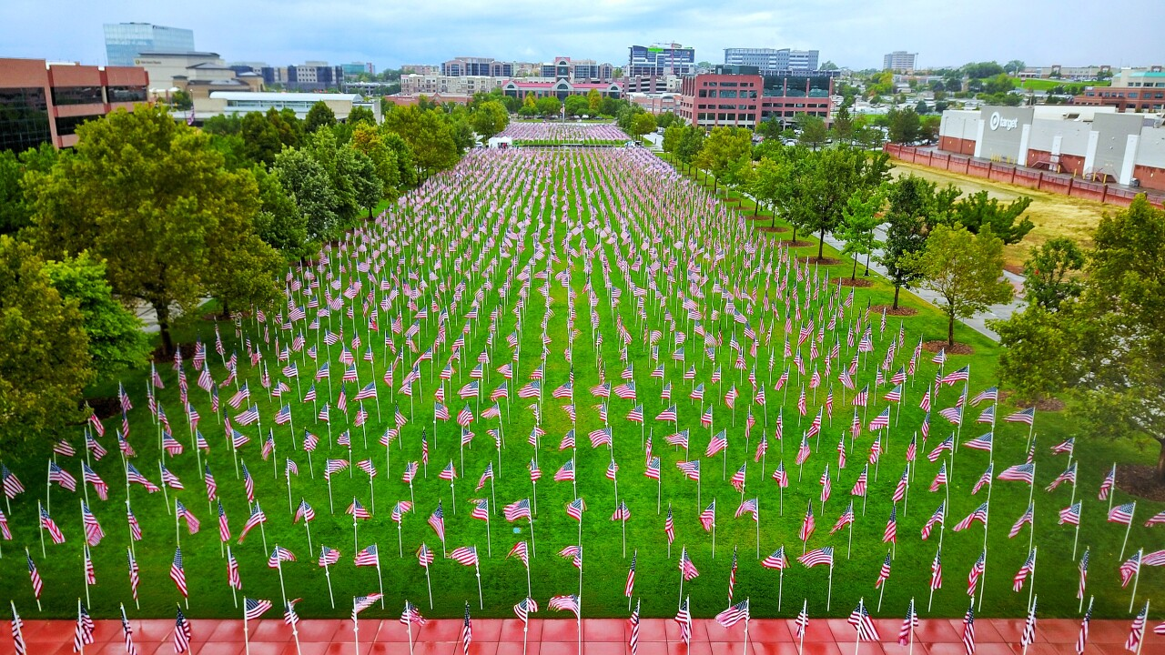 The 'Utah Healing Field' in Sandy provides opportunity to remember and honor 9/11 victims