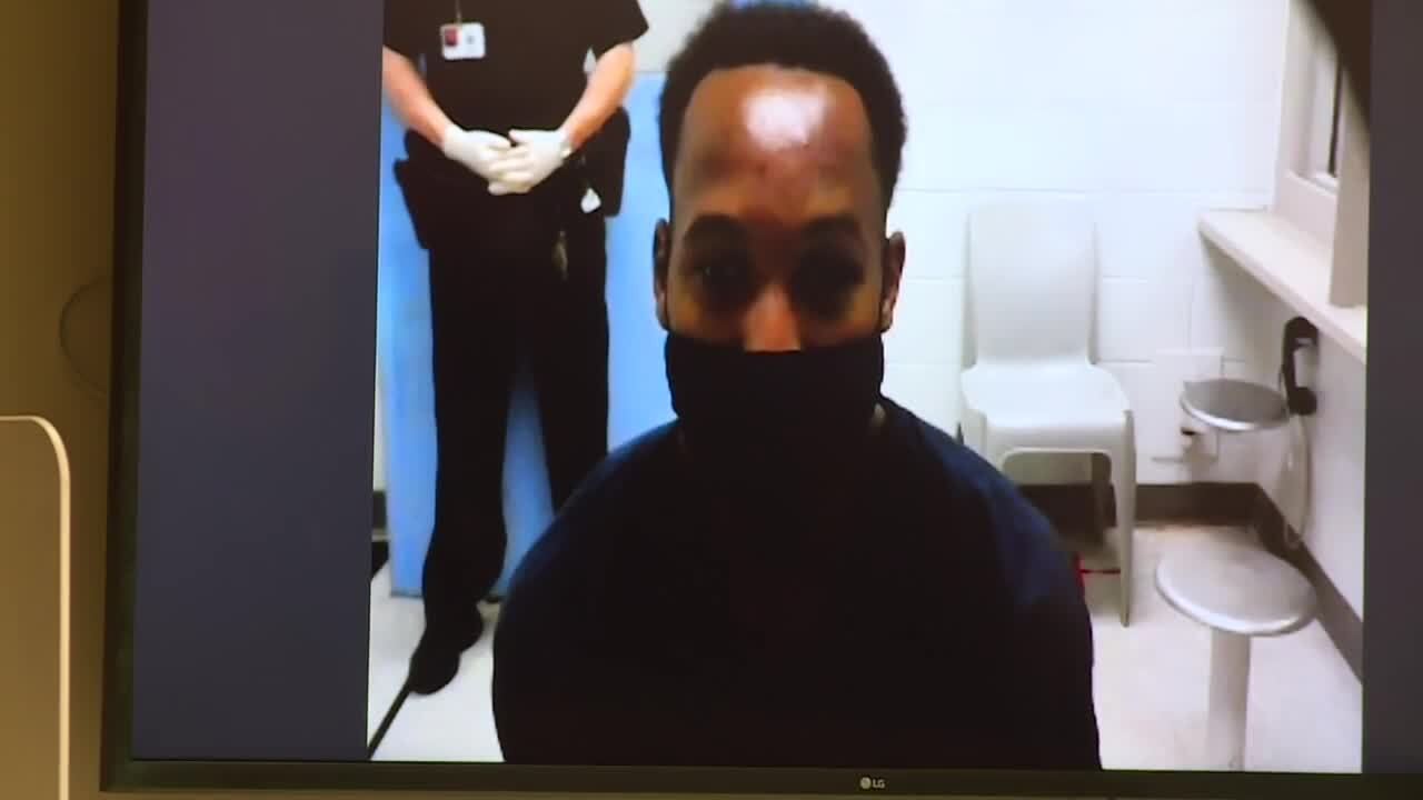 Travis Rudolph first court appearance after murder arrest