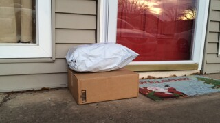 'Porch pirates' target Christmas gifts