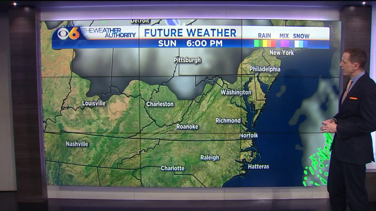 Winter chill will be brief thisweek