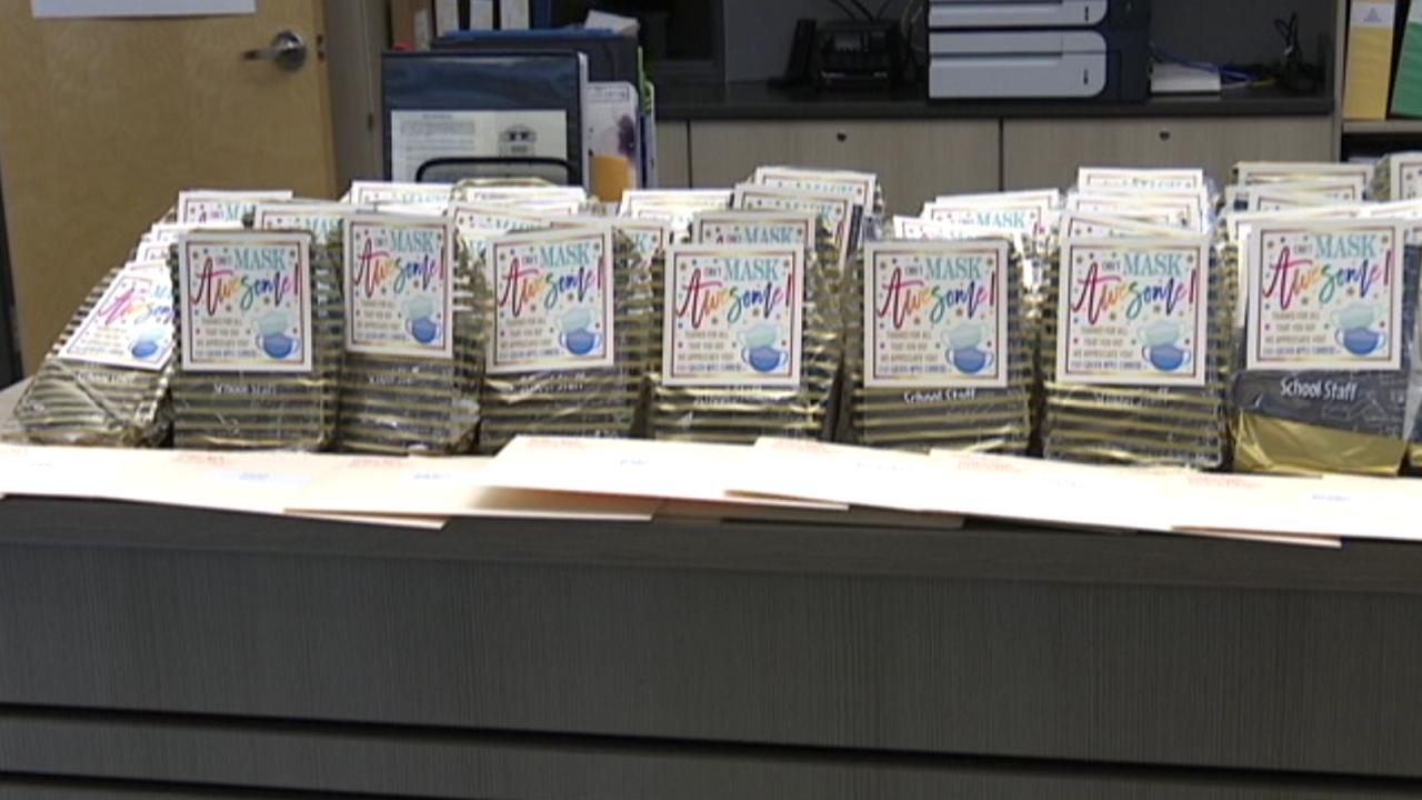 Gift bags at Billings public schools
