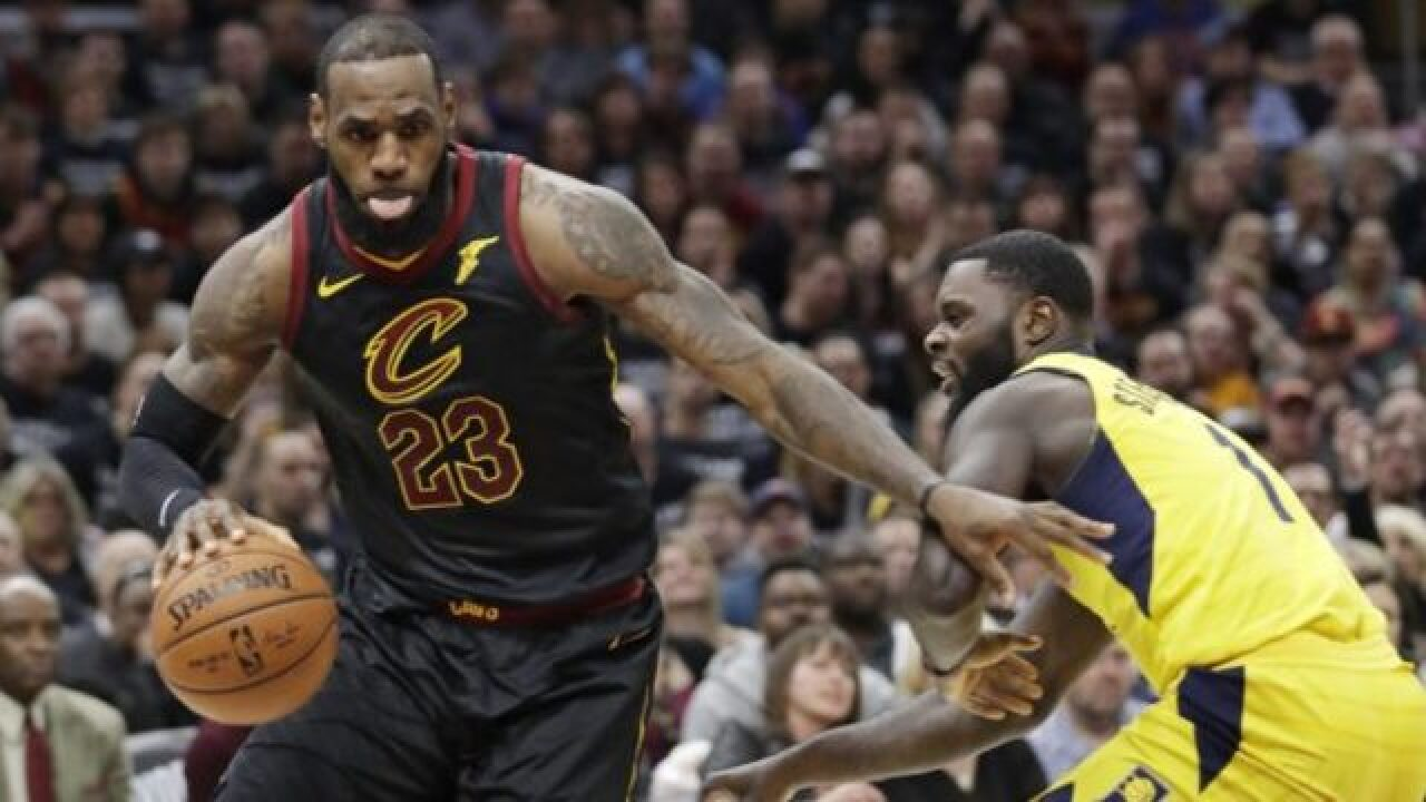 King James leads Cavs to Game 7 win over Pacers, 105-101