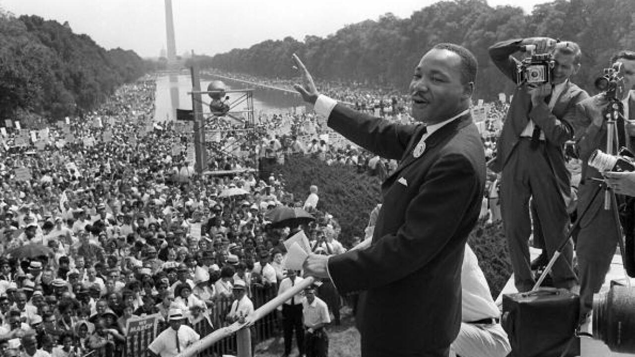 Watch: Tribute to Dr. Martin Luther King Jr. at National Civil Rights Museum